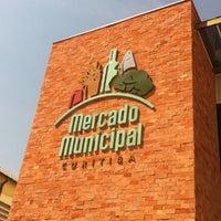 Photo taken at Mercado Municipal de Curitiba by Andre Alves d. on 9/6/2012