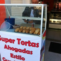 Photo taken at Super Tortas Ahogadas by Jorge R. on 12/8/2011