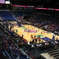 Photo taken at Spokane Veterans Memorial Arena by Bryan B. on 12/31/2011