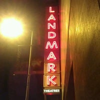 Photo taken at Landmark Theatres by Anthony C. on 5/4/2012