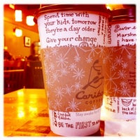 Photo taken at Caribou Coffee by Alison M. on 1/30/2011
