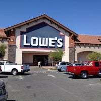 Photo taken at Lowe's Home Improvement by Geoff on 9/1/2012