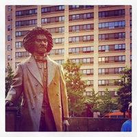 Photo taken at Frederick Douglass Circle by Jonathan on 8/16/2012