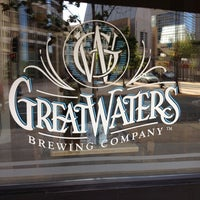 Photo taken at Great Waters Brewing Company by Pam F. on 8/20/2012