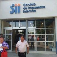 Photo taken at Servicio de Impuestos Internos by Juan M. on 12/9/2011