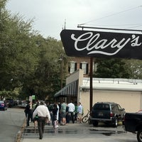 Photo taken at Clary's Cafe by Erik G. on 3/20/2011