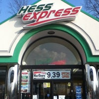 Photo taken at Hess Express by Paul G. on 3/22/2012