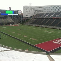 Photo taken at Nippert Stadium by Ed L. on 9/6/2012