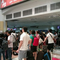 Photo taken at Thai AirAsia Counter by Thong H. on 3/25/2012
