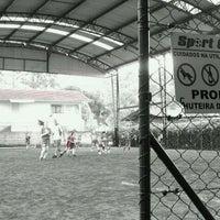 Photo taken at Sport Center Academia e Futebol Society by Marco N. on 10/8/2011