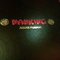 Photo taken at Nanking Asian Fusion by Goldi L. on 9/1/2012