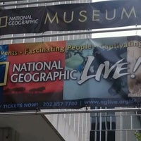Photo taken at National Geographic Museum by Zach L. on 8/11/2012