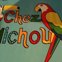 Photo taken at Chez Michou Crêperie by Wanderly D. on 3/6/2011