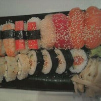 Photo taken at Super Sushi by Christin T. on 8/28/2011