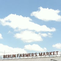 Photo taken at Berlin Farmer's Market & Shopping Center by Stephanie on 5/28/2011