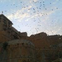 Photo taken at Jaisalmer Fort by hyunjung l. on 1/24/2012