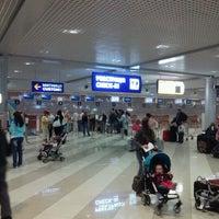 Photo taken at Terminal F (KBP) by Anton on 5/26/2012