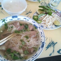 Photo taken at Pho Bac by Dolly B. on 4/29/2012