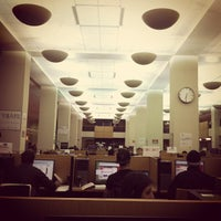 Photo taken at TTU - Texas Tech University Library by Ty G. on 12/6/2011
