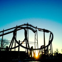 Photo taken at Six Flags Fiesta Texas by Hope R. on 12/29/2011