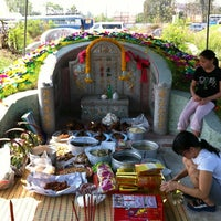 Photo taken at ป่าช้าจีน by Thanyalak I. on 3/17/2012
