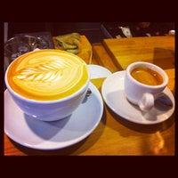 Photo taken at Panther Coffee by Sebastian R. on 4/21/2012