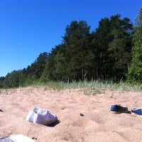 Photo taken at Пляж Черная Речка by Лена К. on 6/30/2012