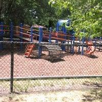 Photo taken at Mann Park by Joshua C. on 6/27/2012