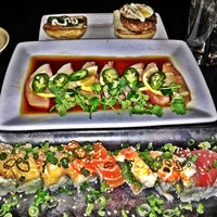 Photo taken at Musashi's Japanese Steakhouse by Amanda W. on 2/24/2012