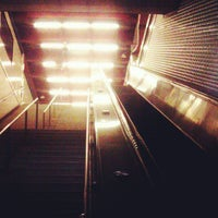 Photo taken at Powell St. BART Station by Torrey N. on 6/27/2012