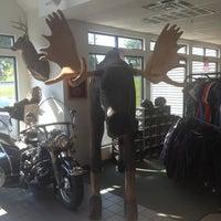 Photo taken at Big Moose Harley-Davidson by Jeremiah B. on 6/21/2012