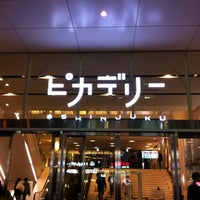 Photo taken at Shinjuku Piccadilly by Makoto C. on 2/18/2012