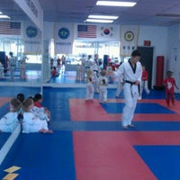 Photo taken at W.S. Jeung Taekwondo by Jennifer M. on 5/16/2012