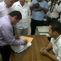 Photo taken at IEPC [Instituto Electoral y de Participación Ciudadana de Tabasco] by Ricardo Sashiel R. on 7/15/2012