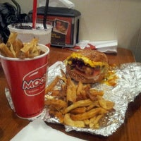 Photo taken at MOOYAH Burgers, Fries & Shakes by Cheryl G. on 3/18/2012