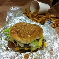 Photo taken at Five Guys by Anna G. on 6/15/2012