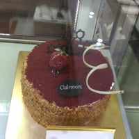 Photo taken at Clairmont Patisserie by Cherry Y. on 9/3/2016