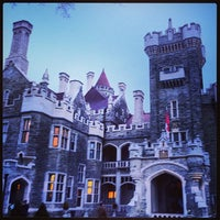 Photo taken at Casa Loma by John T. on 4/18/2013