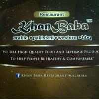 Photo taken at Khan Baba Restaurant by K3syA Z. on 3/14/2013