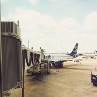 Photo taken at Gate A25 by Michael I. on 6/12/2014