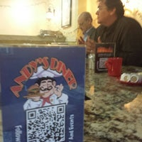 Photo taken at Andy's Diner by Ed M. on 11/6/2014