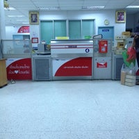 Photo taken at Lat Phrao Post Office by Kix R. on 10/10/2012