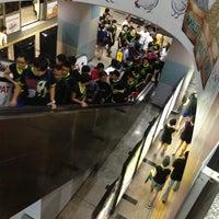 Photo taken at RapidKL KLCC (KJ10) LRT Station by Edward H. on 10/13/2012