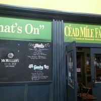 Photo taken at McMullan's Irish Pub by Ryan G. on 3/19/2013