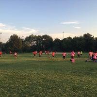Photo taken at Latrobe Field by Erika L. on 9/8/2016