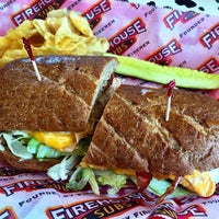 Photo taken at Firehouse Subs by Nessie on 7/15/2015