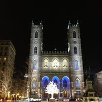 Photo taken at Notre-Dame Basilica of Montréal by Angela S. on 2/17/2013