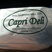 Photo taken at Capri Deli & Kitchen by Robert B. on 11/13/2013