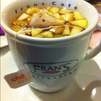 Photo taken at Fran's Café by Eduardo M. on 5/14/2013
