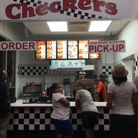 Photo taken at Checkers Drive-In Restaurant by Sindy on 8/1/2016